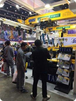 บรรยากาศภายในงาน Thai Metalex 2016