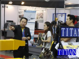 บรรยากาศภายในงาน Thai Metalex 2017