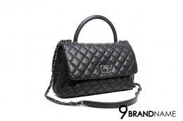 Chanel Coco 10.5 Caviar Black RHW 6