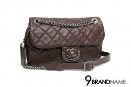 Chanel Easy Calfskin  Brown SHW  Size 10