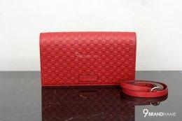 Gucci Micro guccissima WOC  red