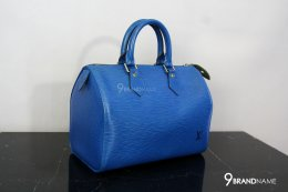 Louis Vuitton Speedy Blue Epi Size 30 GHW