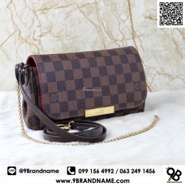 Louis Vuitton Favorite PM  Damier GHW
