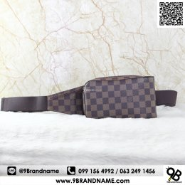 Louis Vuitton Geronimos Damier Ebene Cross Body Bag