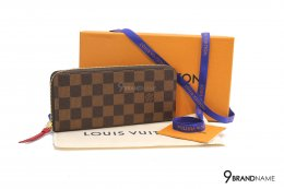 Louis Vuitton  Clémence Wallet Red