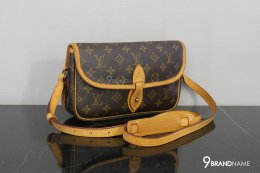 Louis Vuitton Monogram Gibeciere PM Shoulder Bag M42248