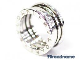 BVLGARI 18 kt white gold and diamond ring