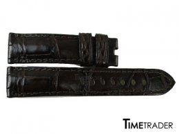 Crocodile Watch Strap  Black color