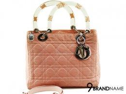Christian Dior Ladydior 10 Pink Nilon Limited Flower SHW