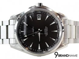 Omega Seamaster CO-Axial หน้าดำ หลักขีด Date  Steel Man Size