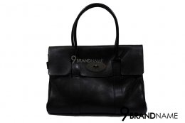 Mulberry Black NVT Bayswater with gold hardware