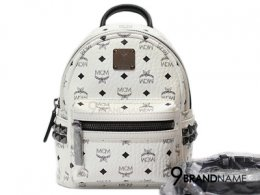 MCM Back Pack & Crossbody White Color Size S