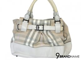Burberry Sholder Bag White Color