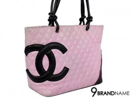 Chanel Pink Quilted Leather Ligne Cambon Large Tote Bag
