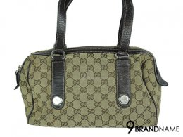 Gucci Vintage GG Canvas Tote Sholder Bag