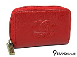 Chanel Zippy Coin Purse classic red caviar GHW