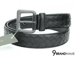 Bottega Veneta Belt 90 Black Calf