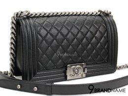 New Chanel Boy 10 Caviar Black SHW