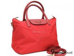 Prada Shopping Tessuto Saffiano Rosso BN2106 Size 25cm