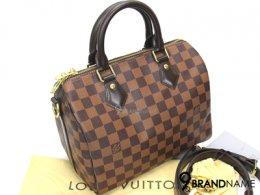 Louis Vuitton Speedy Bandoliere 25 Damier Ebene Canvas