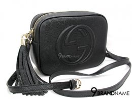 Gucci Disco Bag Soho EN Cuir Calf Black Size 21x15x7 cm