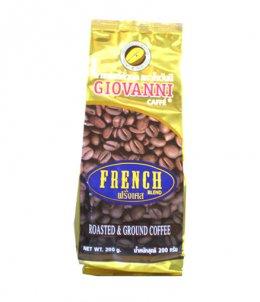 กาแฟโจวันนีรสฝรั่งเศส ขนาด 200 กรัม แบบเม็ด Blend Arabica+Robusta