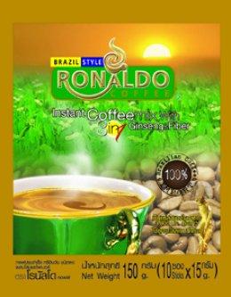 Package 4 :  กาแฟโรนัลโด คอฟฟี่