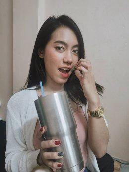 สายปาร์ตี้อย่างสาวใบว่าน ก็เลือก D-Toxi ในการดูแลตัวเองและคนในครอบครัว