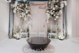 Mini wedding during Rainy Season
