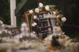 ใครจะคิดว่าสวนหลังบ้าน .....วันนึงจะกลายเป็นที่จัดงานแต่งงาน