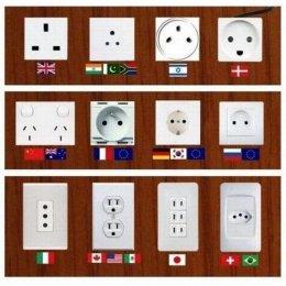 11 ประเทศกับ 9 รูปแบบปลั๊ก