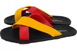 CROSS-พื้นดำ-สายแดงสลับเหลือง