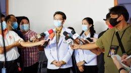 โครงการหมอช่วยเราเราช่วยหมอมอบตู้อบฆ่าเชื้อหน้ากากอนามัยด้วยแสง UVC