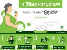 4 วิธีลดหวานง่าย ๆ ❘ Chersery Home International