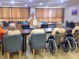 กิจกรรมกระตุ้นความจำ ผ่านการประดิษฐ์ |  โรงพยาบาลผู้สูงอายุ และศูนย์เวชศาสตร์ฟื้นฟู