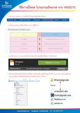 วิธีดาวน์โหลดซอฟต์แวร์และโปรแกรมอัพเกรด จากเว็บไซต์