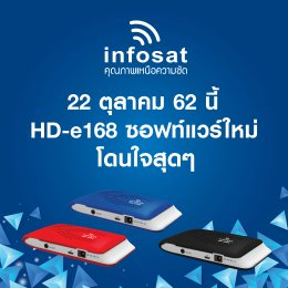 HD-e168 New software. What's new?