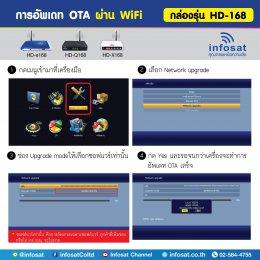 การอัพเดท OTA ผ่าน WiFi หรือ Network Update