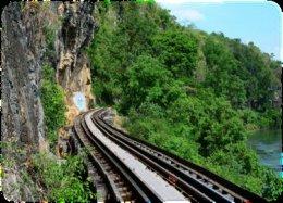 The Death Railway (KRASAE cave, wooden bridge)