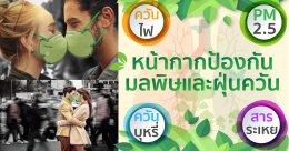 ทำไมต้อง หน้ากากป้องกันมลพิษและฝุ่นควัน?