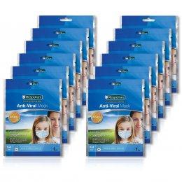 RespoKare หน้ากากป้องกันไวรัสไข้หวัดใหญ่ สำหรับเด็ก จำนวน 12ชิ้น