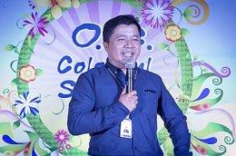 แฟชั่นโชว์ OCC Colorful Summer 2015