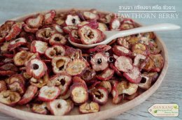 เซียงจา หรือ ซานจา หรือ ซัวจา อบแห้ง (Hawthorn Berry)