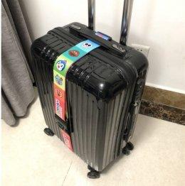 สายรัดกระเป๋าเดินทางลายอังปัง
