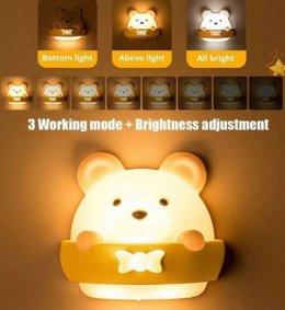 โคมไฟหมี Mini teddy LED พร้อมรีโมท