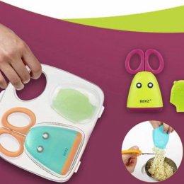 กรรไกรตัดอาหาร Berz Baby Food Scissor