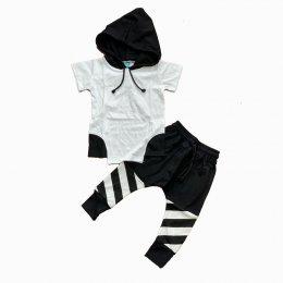 black n white hoodie