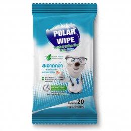PolarWipe ผ้าเปียกทำความสะอาดผิว
