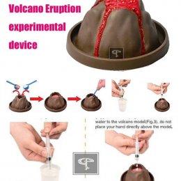 Volcano Eruption ชุดการทดลองภูเขาไฟระเบิด