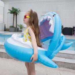 ห่วงยางเด็กสอดขาปลาฉลามพร้อมหลังคา มีที่จับด้วย!